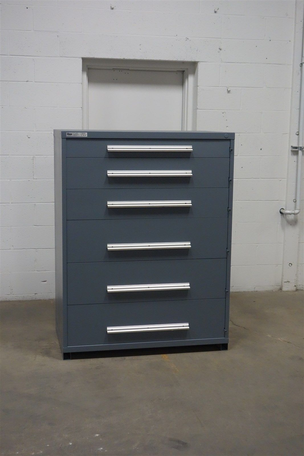 Used Vidmar 6 Drawer Cabinet Tool