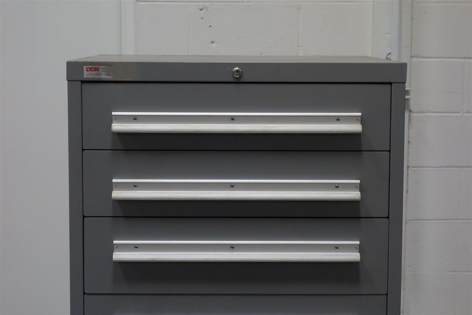 Used Lyon 7 Drawer Cabinet Tool