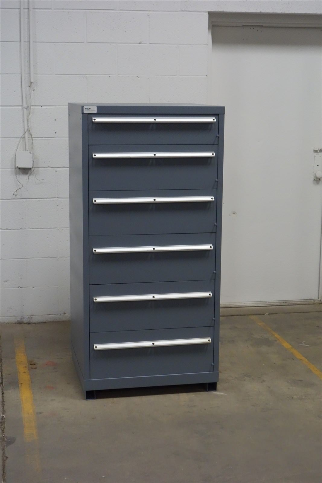 Used Lista 6 Drawer Cabinet Tool